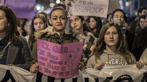 Manifestación del25N,Día Internacional de la no violencia contra las mujeres