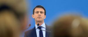 Manuel Valls, durante un acto en Gasny, el pasado 27 de junio.