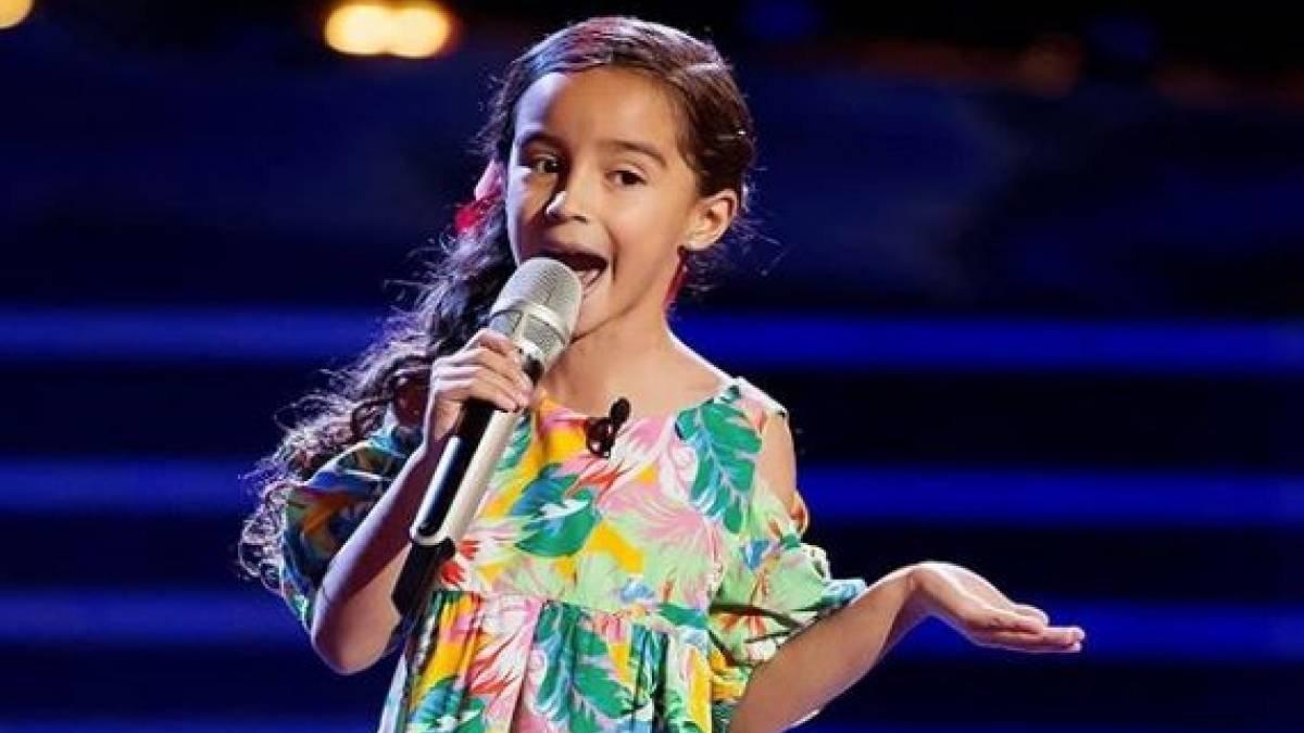 Marian, la niña que emocionó a Melendi en 'La voz kids' (México), ingresada tras sufrir un grave accidente