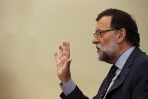 Mariano Rajoy, aquest dijous, a Madrid.