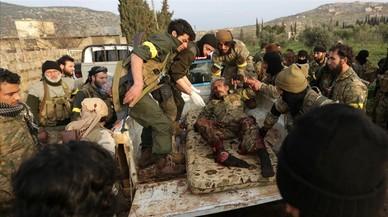 Un bombardeo turco mata 36 milicianos de Asad en Siria