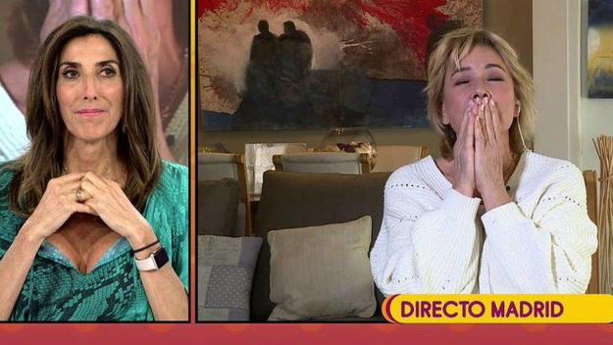 "'Sálvame' despide a una emocionada Mila Ximénez antes de 'GH VIP': ""Vas a ayudar a Mediaset"""