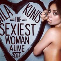 Mila Kunis, en una imagen del 2012, cuando fue elegida la mujer más sexi del 2012 por la revista Esquire.