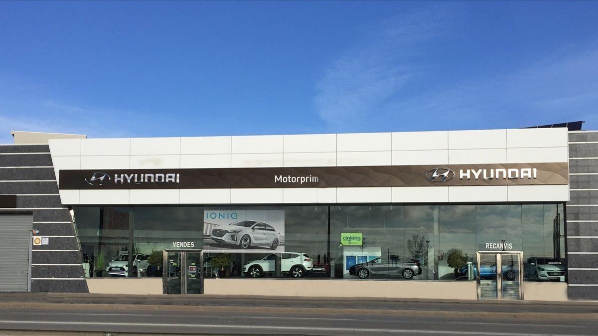Concesionario oficial de Hyundai comprado por Movento el pasado septiembre.