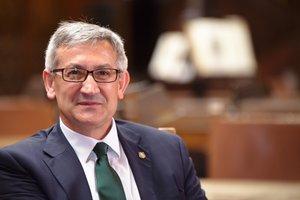 Santiago García Granda, presidente de Crue-Sostenibilidady rector de la Universidad de Oviedo. // CRUE