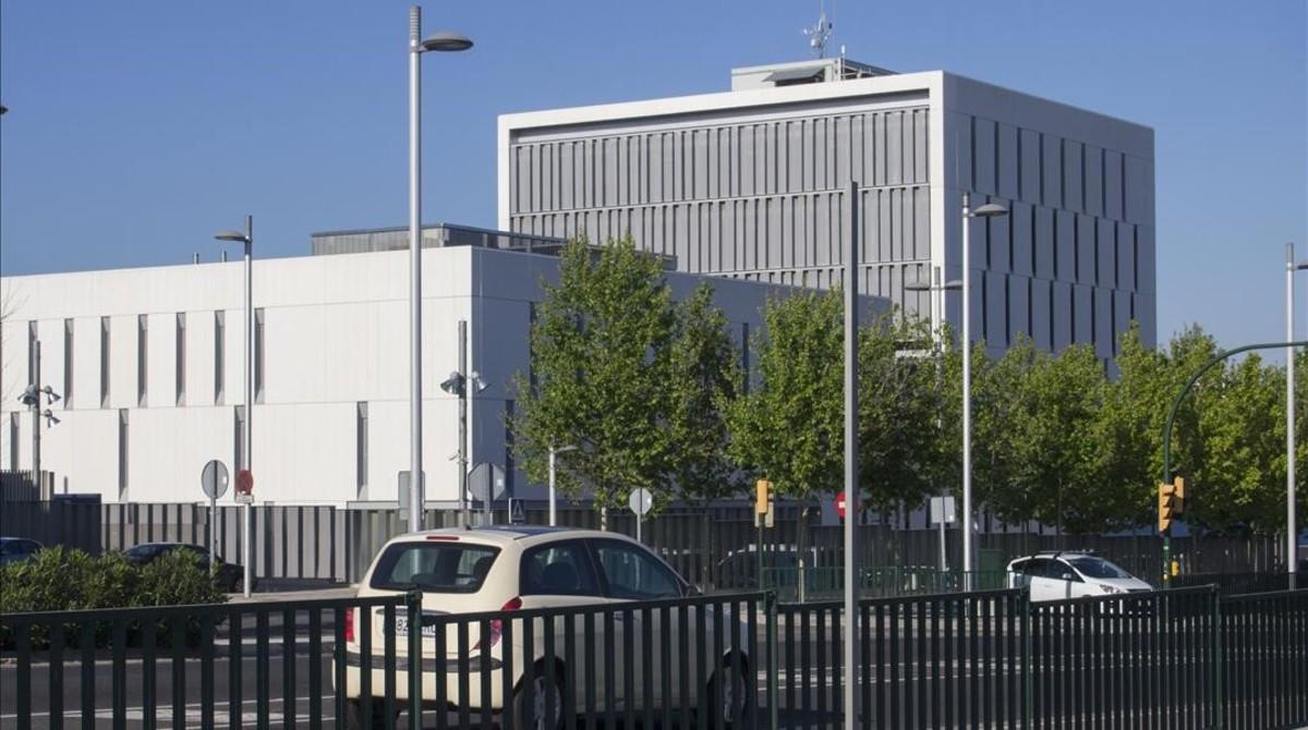 La comisaría de los Mossos dEsquadra en Tarragona.