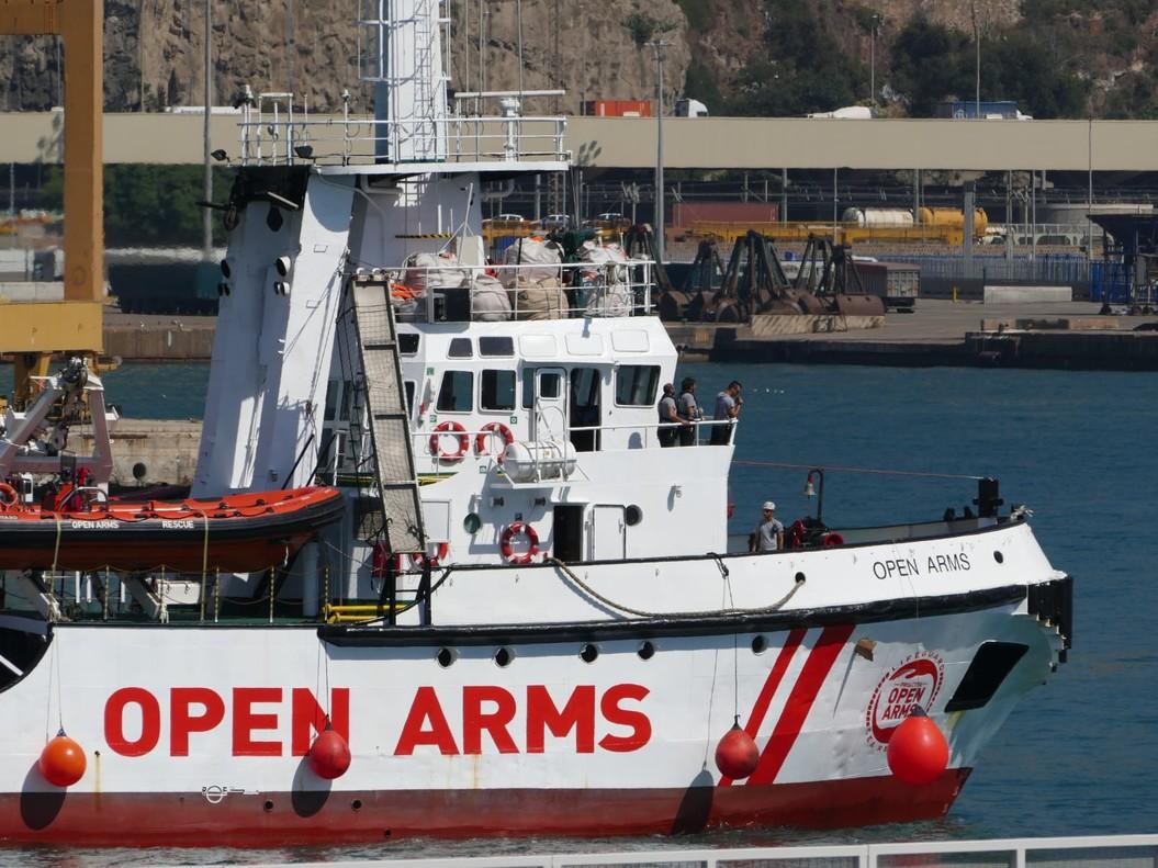 Italia cierra puertos a Open Arms