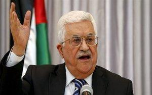 Mahmud Abbas, el presidente de Palestina.