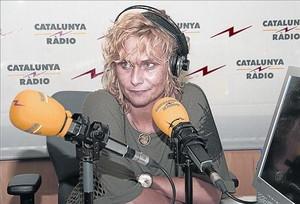 La periodista Mònica Terribas, en Catalunya Ràdio.