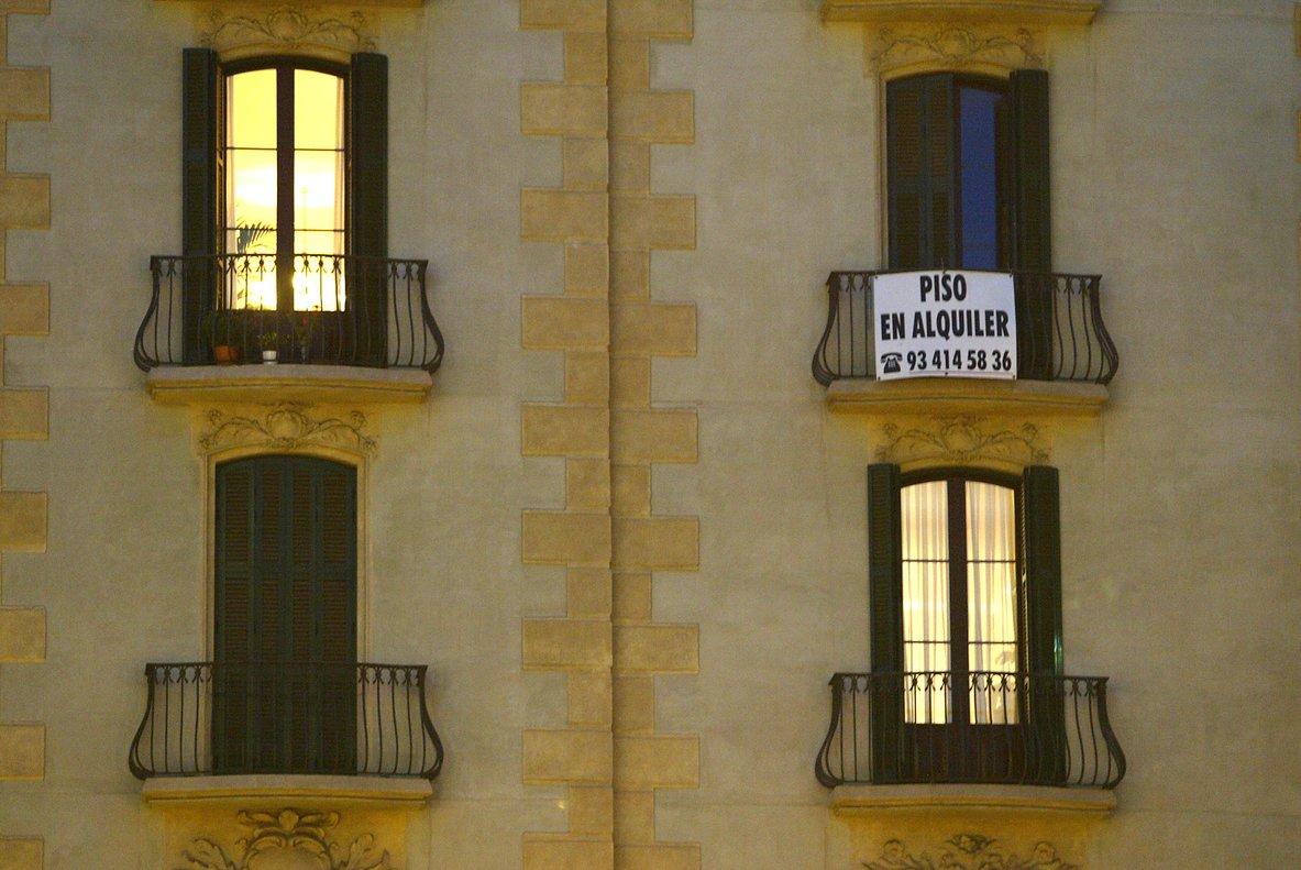 Los jóvenes deciden alquilar pisos en las grandes ciudades