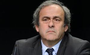 El expresidente de la UEFA Michel Platini, en octubre del 2015