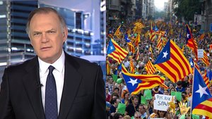 'Informativos Telecinco' crea polémica al incluir imágenes de independentistas catalanes en una pieza sobre el nazismo