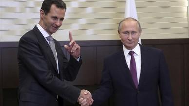 Asad gana la guerra siria