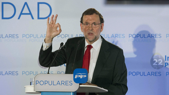 Mariano Rajoy, orgulloso del resultado del test de estrés a la banca del BCE conocido esta mañana .