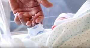 Un recién nacido.