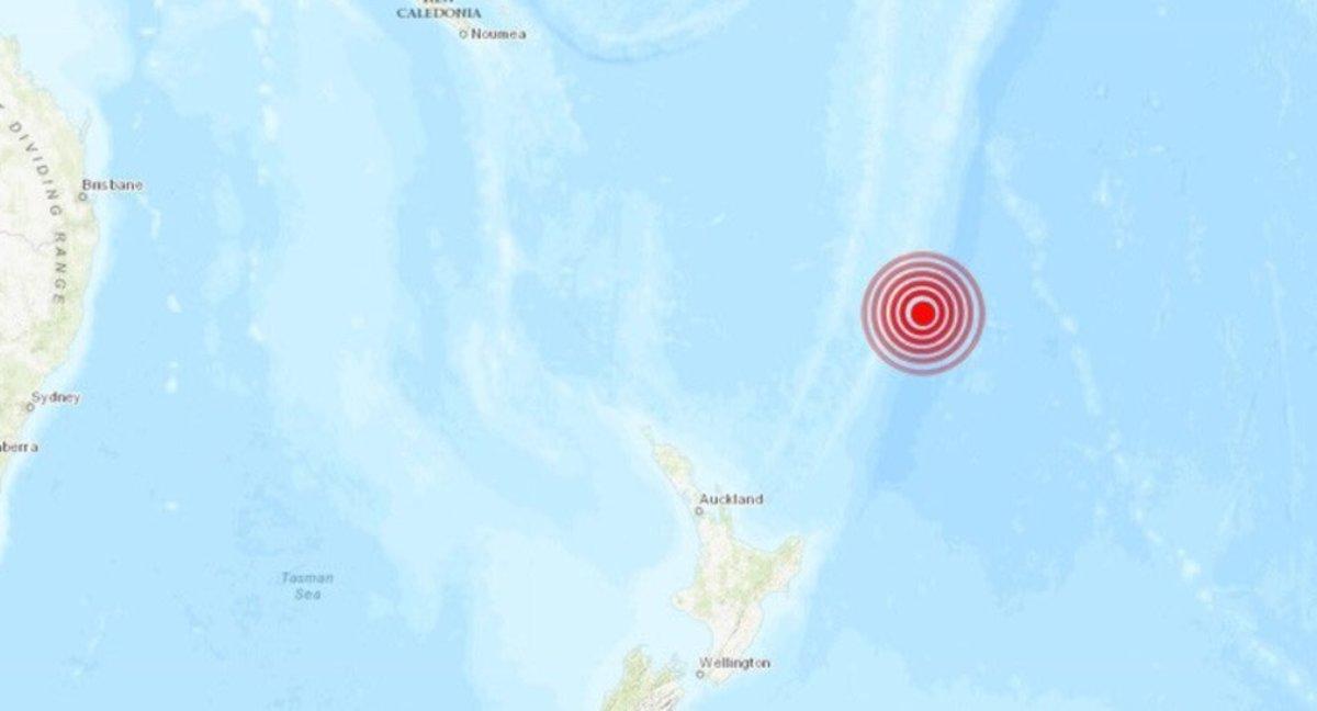 Seísmo de 7.2 grados remece Nueva Zelanda
