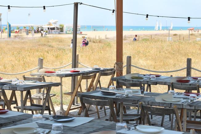 5 restaurantes cerca de Barcelona y delante del mar