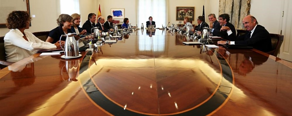 Reunión extraordinaria del Consejo de Ministros.