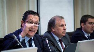 El director de Economía y Estadística del Banco de España, Oscar Arce, en una imagen de archivo.