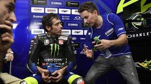 Una cosa mai vista ni imaginable: Lorenzo aconsellant Rossi