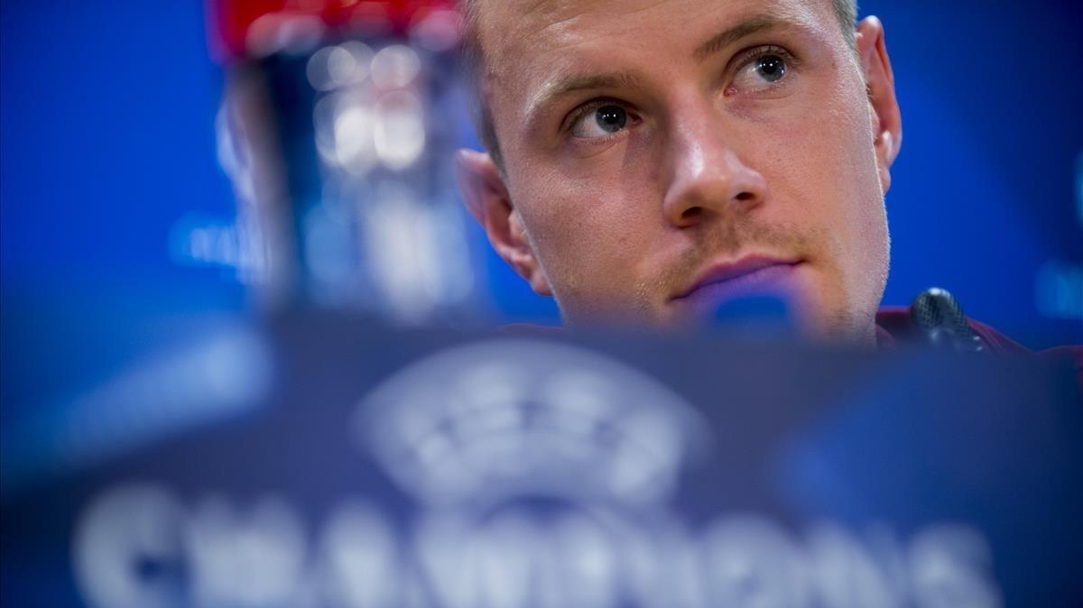 Ter Stegen asegura que no hay ánimo de revancha contra la Juve