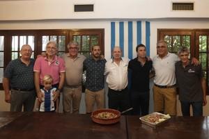 Rubi, en la cigronada de Vilassar con Sánchez Llibre y Collet, entre otros.
