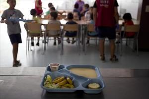 Servicio de comedor para niños con riesgo de exclusión social.