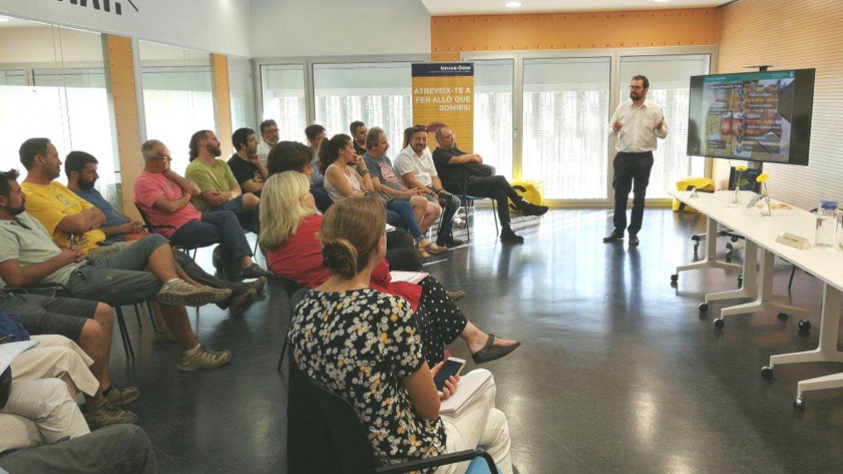 Sesión de la jornada 'En Viladecans impulsamos el producto local'.