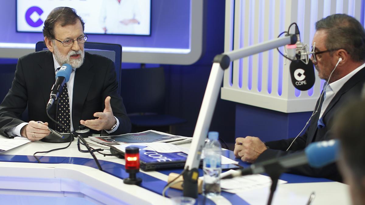 Entrevista a Mariano Rajoy a la COPE.