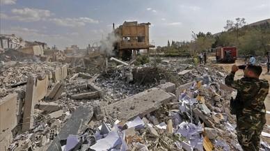Asad sigue a lo suyo pese el ataque de Trump