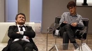 Luis Enrique (Ivan Labanda), en el programa 'Crackòvia', de TV-3.