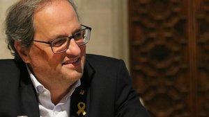 El presidente de la Generalitat de Catalunya, Quim Torra.