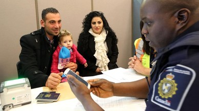 Refugiados sirios a la carta