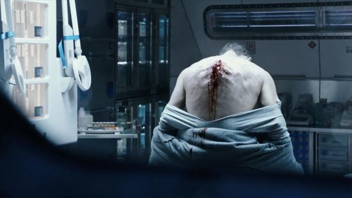 Una imagen de Alien: Covenant, de Ridley Scott.