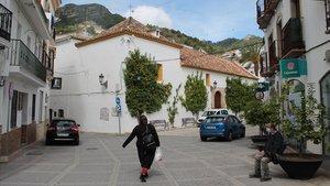 Una imagen del pueblo de Ojén, en Málaga.