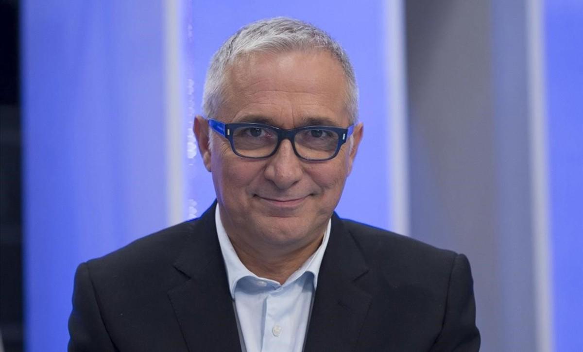 El periodista Xavier Sardá, que recibirá el Premio Iris Toda una Vida.