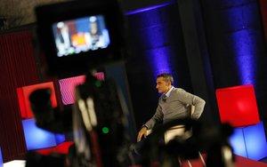 Valverde, en la entrevista navideña que concedió a Barça TV.