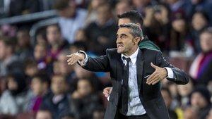 Valverde, en el partido ante el Slavia.