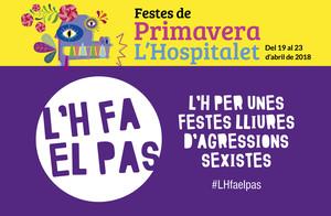 Cartell contra la violència sexista a lHospitalet.