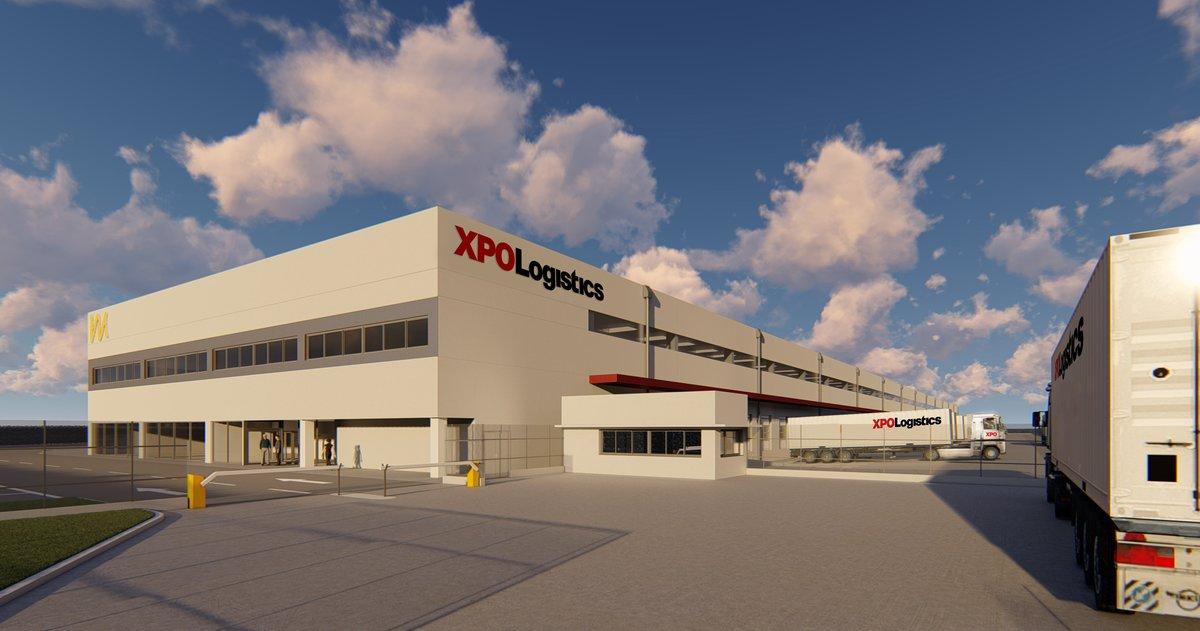 Planta de XPO Logistics en Castellbisbal.