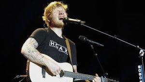 Ed Sheeran, en el Palau Sant Jordi, en el 2017.
