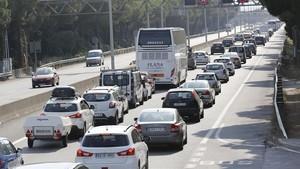 Consulta l'estat de les carreteres en l'operació sortida del pont