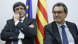 Mas acompanyarà Puigdemont a Perpinyà