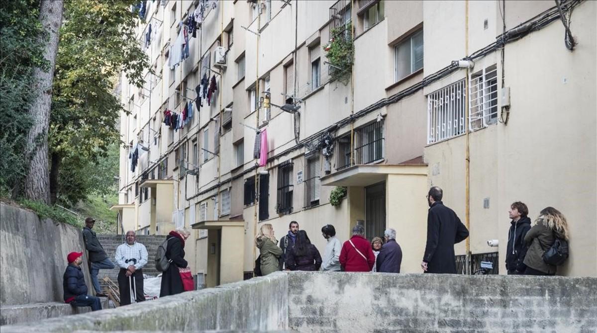 Els pisos a Ciutat Meridiana pugen un 41% mentre continuen els desnonaments