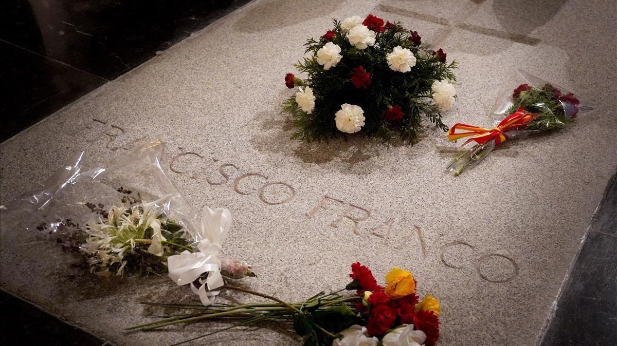 La Guàrdia Civil prefereix treure Franco en helicòpter del Valle de los Caídos