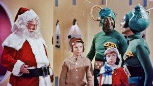 Un fotograma de Santa Claus conquista a los Marcianos.