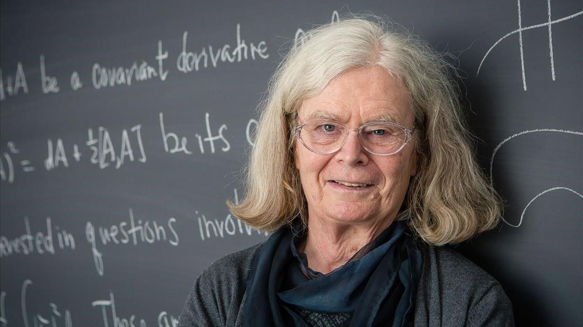 Karen Uhlenbeck, en una imagen difundida por laNorwegian Academy of Science and Letters
