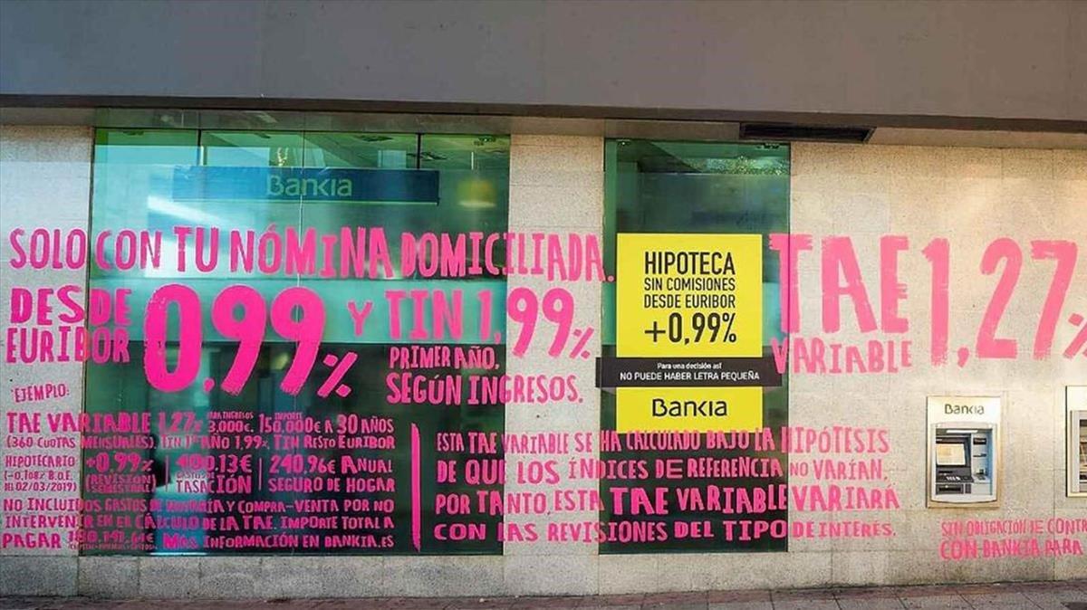 Campaña hipotecaria de Bankia.