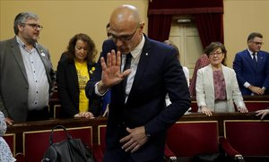 La Mesa dona per vàlides totes les fórmules de jurament amb afegitons d'una trentena de senadors