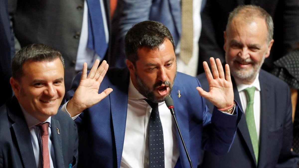 Renzi impulsa una alternativa per desbancar Salvini del Govern italià